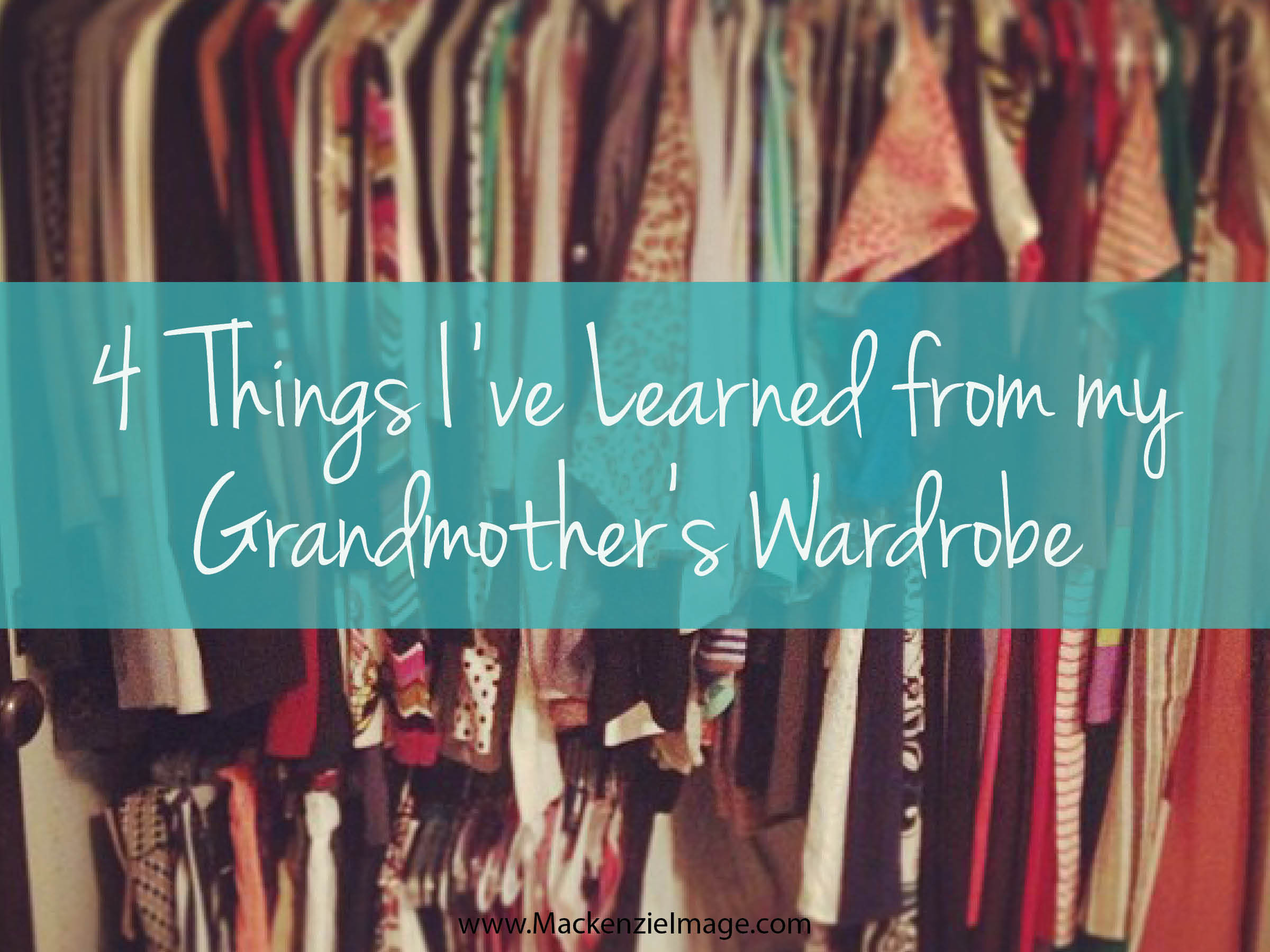 Lessons i have learnt from my grandmother