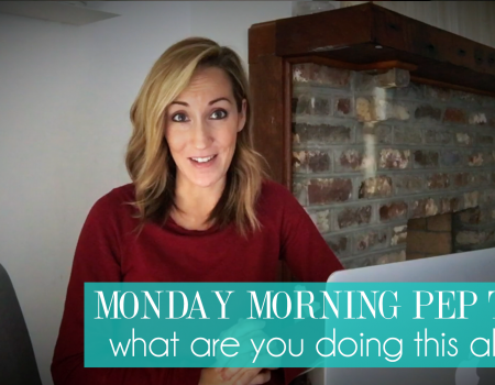 What are you working so hard for | Monday Morning Pep Talk