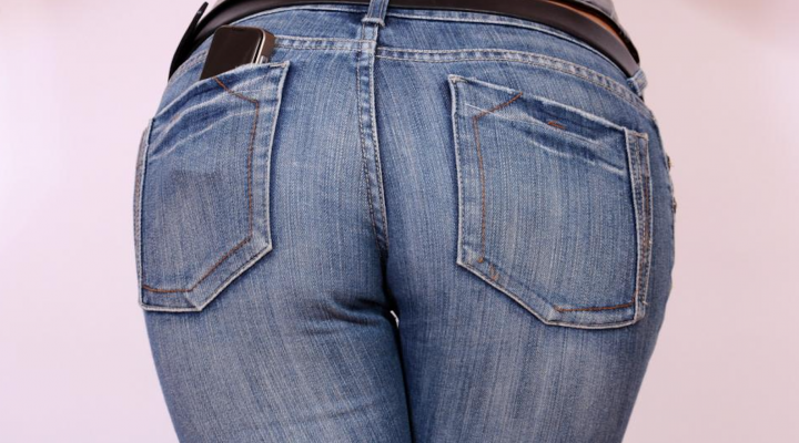 Mediocre butt jeans